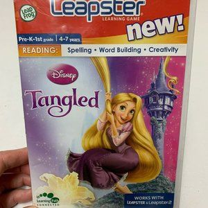 Leap Frog Leapster Learning Game Reading Tangled